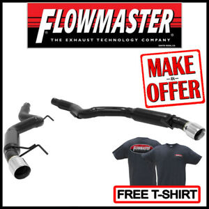Flowmaster Axle back Outlaw 3 Exhaust Kit 2015 2019 Ford Mustang 2 3l 3 7l