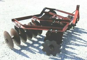 Used Athens 7 Ft 3 Pt Lift Disc Harrow we Can Ship Cheap And Fast