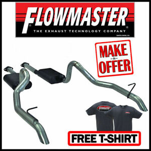 Flowmaster 1987 1993 Mustang Gt 5 0l Cat Back American Thunder Dual Exhaust Kit