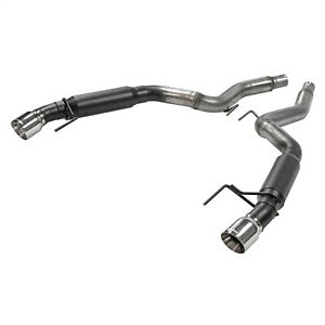 Flowmaster 817713 Outlaw Series Axle Back Exhaust System Fits 15 19 Mustang
