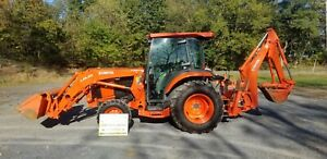 2013 Kubota L4760 Tlb Tractor W cab Only 588 Hours Just Serviced Nice