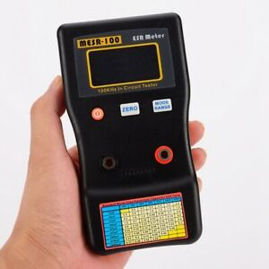Clip On Mesr100 V2 Auto Ranging In Circuit Esr Capacitor Meter Tester 0 001 100r