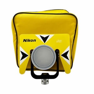 New Yellow Nikon Single Prism For Nikon Total Stations Offset 30mm 0mm