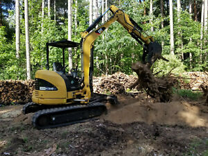 2011 Cat 304d Caterpillar Hydraulic Mini Excavator With Hydraulic Thumb