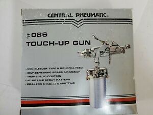 Central Pneumatic 240cc Touch Up Air Spray Gun Model 086 New Old Stock