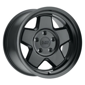 Black Rhino Realm Rim 17x9 5 5x127 Offset 18 Semi Gloss Black Quantity Of 4