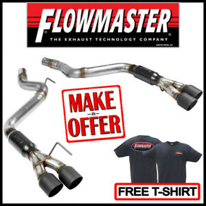 Flowmaster Outlaw Axle back 3 Exhaust Kit 2018 2019 Ford Mustang Gt 5 0l