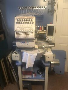 Cam5 Commercial Embroidery Machine