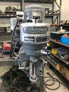 Bridgeport Step Pulley Milling Machine Head Fully Rebuilt