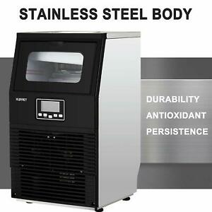 Portable Steel Stainless Commercial Ice Maker Built in Cube Auto Making Machine