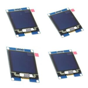 4x 1 5in I2c Oled Module Driver Chip 128x128 Communication Support For Uno
