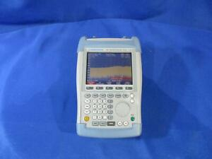 Rohde Schwarz Fsh6 6 Ghz Spectrum Analyzer