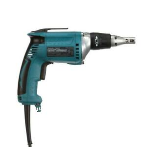 6 amp 6000 Rpm 1 4 In Drywall Screwdriver Corded Electric Screw Gun Makita