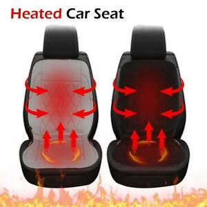 12v Universal Electric Car Heating Seat Cover Pad Thermal Heated Warmer Cushion