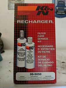 K N Air Filter Cleaning Kit 99 5050 Recharger Restore Squeeze Bottle Cleaner Oil
