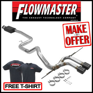 Flowmaster Outlaw 3 Cat back Exhaust Kit 2013 2018 Ford Focus St 2 0l Turbo