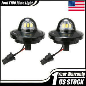 Full Led License Plate Light Lamp Assembly For Ford F150 Ranger Raptor Explorer