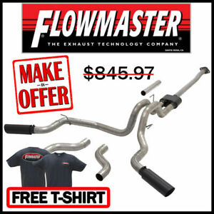 Flowmaster 2015 2018 Ford F 150 2 7l 3 5l 5 0l 3 Outlaw Dual Exhaust System