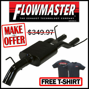 Flowmaster 2009 2019 Toyota Tundra 3 Outlaw Extreme Dump Down Cat back Exhaust