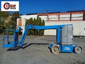 2011 Genie Z30 20n Boom Man Aerial Lift Electric Low Hours 39ft Height