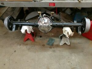 12 Bolt Rear End Chevelle 66 Posi 4 10 Complete