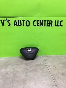 2003 Honda Element Front Drivers Side Air Bag Steering Wheel 2003 2005 Black