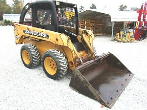 2004 John Deere 240 Skid Steer New Rims Tires Free 1000 Mile Delivery From Ky