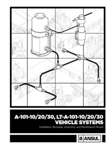 Ansul Vehicle Systems Manual A 101 10 20 30