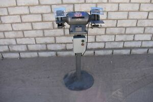 Used Dayton Double End Grinder 3 4 Hp 1 Wheel 3450 Rpm