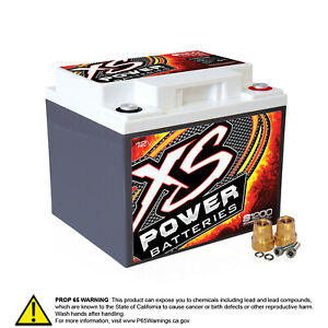 Xs Power S1200 12 Volt Agm Battery Max Amps 2 600a Ca 725a Starting Battery Au