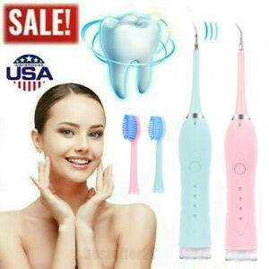 Ultrasonic Scaler Electric Tooth Cleaner Dental Calculus Stain Remover Oral Care