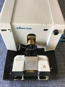Reichert Jung Biocut 2030 Manual Rotary Microtome With Knife Fully Tested