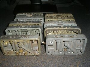 10 Holley Metering Blocks Used B