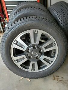 20 Toyota Tundra Sequoia Oem Tss Trd Wheels Rims And Tires