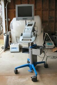 Sonosite 180 Plus Ultrasound System With Transducer Dock Monitor Printer