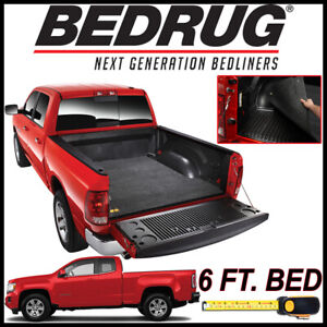 Bedrug Classic Bed Mat Liner For 2015 2020 Gmc Canyon With 6 Ft Bed