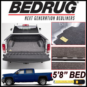 Bedrug Classic Bed Mat For 2007 2018 Gmc Sierra 1500 Protection Liner Fits 5 8