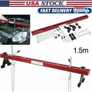 Engine Load Leveler 1100lbs 500kg Capacity Support Bar W Dual Hook Support Fast