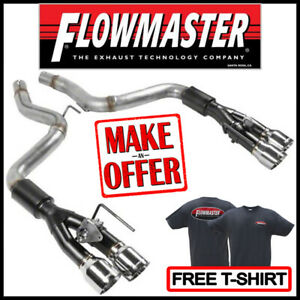 Flowmaster Axle back Outlaw 3 Exhaust Kit 2018 2020 Ford Mustang Gt 5 0l V8