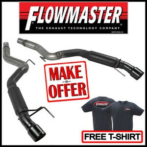 Flowmaster Axle back Outlaw 3 Exhaust Kit 2015 2019 Ford Mustang 2 3l 3 7l V6