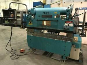 Used Accurpress Cnc Hydraulic Press Brake Model 7 60 6 60 Ton X 6