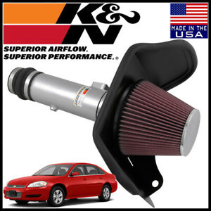 K n Typhoon Cold Air Intake System Fits 2013 Chevy Impala 2014 Limited 3 6l V6