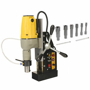 Steel Dragon Tools 1 1 2 Mag Drill And 2 Depth Small 7pc Carbide Cutter Kit