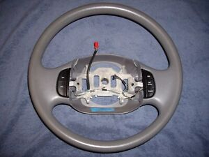 Oem Ford F150 Expedition Gray Graphite Vinyl Steering Wheel W Cruise Control