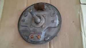 1940 1948 Ford Bare Hydraulic Brakes Backing Plate Square Back Spindle Scta 1932