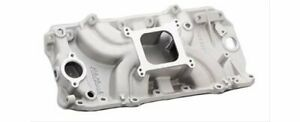 Edelbrock Torker Ii Intake Manold Chevy B396 427 454 Fits Oval Port Heads 5061