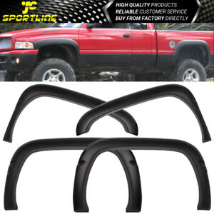 Fits 94 01 Dodge Ram Oe Factory Style Fender Flare Textured Black Pp