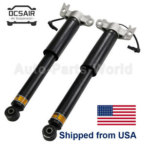 Rear Shock Absorbers For Cadillac Xts 2013 2019 W Electric 84326293 23457036