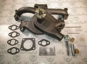 1949 1956 Cadillac Water Pump 331 365 V8 New Includes Hardware Free Ship