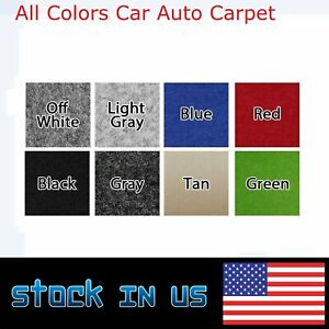 Automotive Boat Carpet Upholstery Durable Un Backed 78 Wide By All Colors